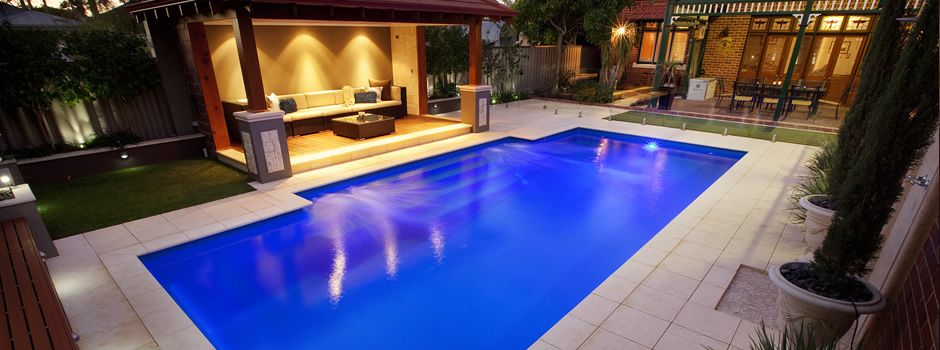 Fibreglass swimming pools landscaping geraldton mid for Pool design ideas australia